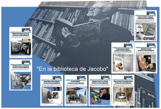 En la Biblioteca de Jacobo Zabludovsky en FANPAGES